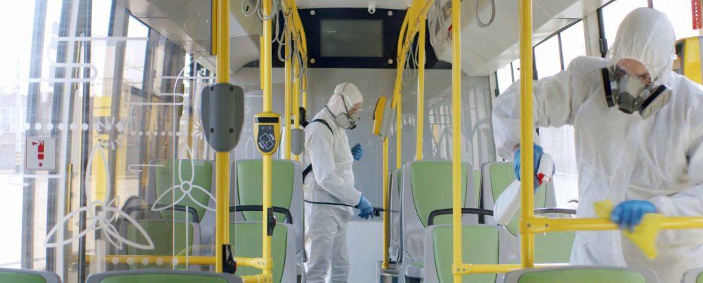 Limpieza de Autobuses