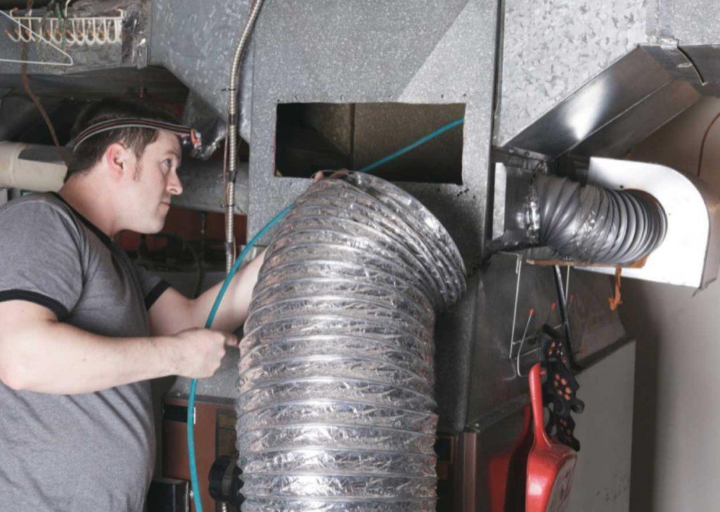 Limpeza de conductos de ventilación